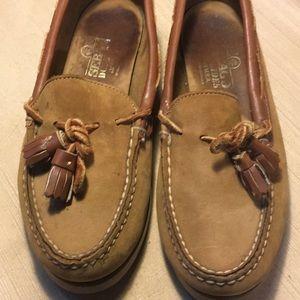 Sebago docksides leather loafers